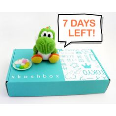 So two things: 1. Absolutely DYING over the new Yarn Yoshi amiibo (!!!) and 2. It's the final week to sign up to receive September's Skoshbox!
