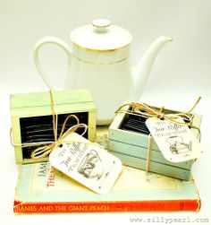 Teacher Gift Idea and Printable: To a TEA - Riffic Teacher