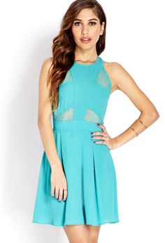 Romantic-At-Heart Lace Dress | FOREVER21 - 2000108103