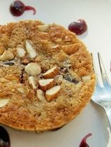 Gluten-Free Cherry Almond Buckle Recipe. i tried this recipe the other day (9.2013)...it was really good.  Naomi