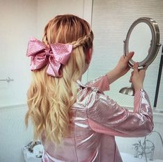 Added by with her hair down. It's so pretty! Little Girl Hairstyles, Down Hairstyles, Jojo Juice, Jojo Siwa Hair, Dance Moms Girls, School Fashion, Hair Dos, Her Hair, Beautiful Dresses