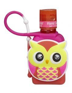 Rhinestone Owl Anti-Bac