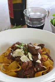 Eet lekker: Pappardelle met Italiaans stoofvlees