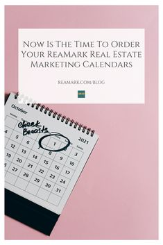 Now Is The Time To Order Your ReaMark Real Estate Marketing Calendars. Marketing Calendar, Mail Marketing, Direct Marketing, Marketing Plan, Marketing Tools, Real Estate Marketing, The New School, New School Year, Magnetic Calendar