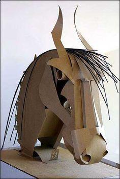 "Photo: The head on Tangpuz' ""Horse Head"" sculpture bobs when ... / LJWorld.com"