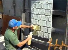 Декоративный прессованный (тонкослойный) бетон