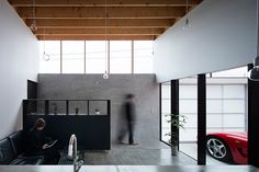 Garage Terrace House / Yoshiaki Yamashita