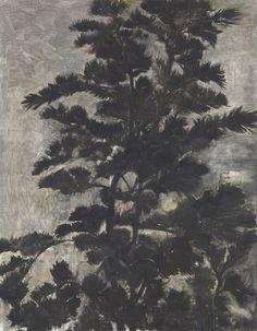 "blastedheath: "" Zhang Enli (Chinese, b. 1965), Tree, 2003. Oil on canvas, 146 x 113.7 cm. (57½ x 44½ in.) """