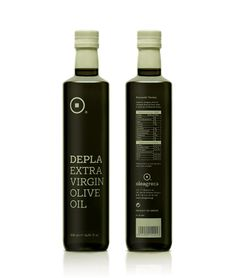 Greece Designer, Chris Trivizas, developed a two-tone packaging for an oil trading company called Depla.