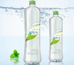 mineral water bottle design - Buscar con Google
