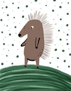 #children #illustration #childrenbook #hedgehog #cute #drawing