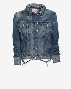 Intermix  rag  bone/JEAN Monterey Denim Jacket