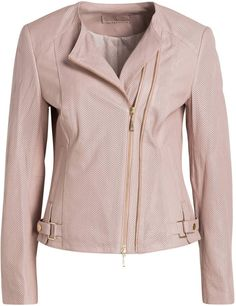 Betty Barclay Lederjacke rosa
