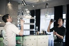Flair Bartenders Cocktails World