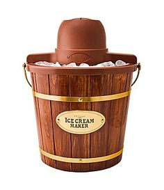 Nostalgia Electrics Old Fashioned Ice Cream Maker #Dillards