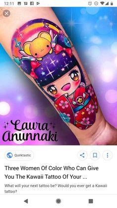 Kawaii Tattoo, Beverages, Drinks, Arizona Tea, Drinking Tea, Tattoo Ideas, Canning, Tattoos, Color