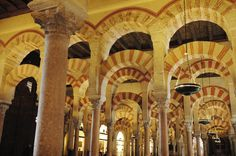 Interior de la Mezquita. / Cedida por: Consorcio de Turismo de Córdoba