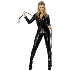 Get ready for Halloween with a black catsuit. <3 Outlet77