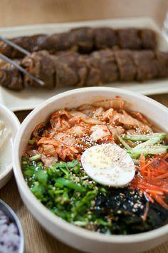 Acorn Tofu Noodle Soup (도토리묵국수)