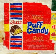 Scottish Confectionery Memorabilia: Ross's Puff Candy