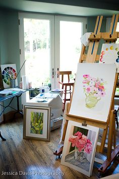 art studio - - I hope that , in my forever home, there will be space for one.