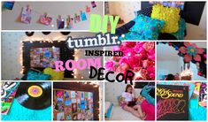 DIY Room Ideas for Teens inspired by Tumblr things!