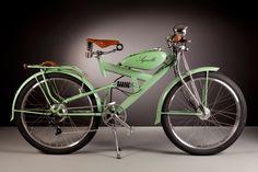 50年代のビンテージパーツを使用、美しく洗練されたフォルムを持つイタリア製電動自転車 - DNA                              …