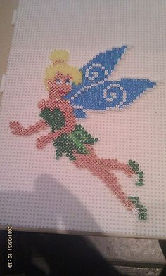 Tinker Bell hama beads by Pernille Henriksen