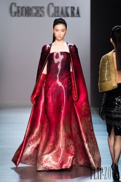Georges Chakra Otoño-Invierno 2014-2015 - Alta Costura - http://es.flip-zone.com/fashion/couture-1/fashion-houses/georges-chakra-4814