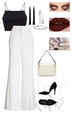 """""""all i need are black and white"""" by ciciliadewintastanim on Polyvore featuring Alice + Olivia, PrimaDonna, Chloé, Cartier, Claire Evans and Blume"""
