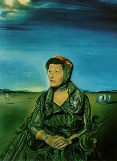 Portrait of Mrs. Fagen - Salvador Dali 1960