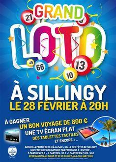 AS Sillingy : grand Loto du foot le samedi 28 février