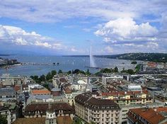 Geneva!  In the Alps!