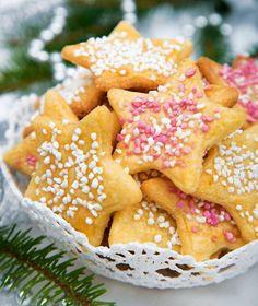 Christmas Baking, Christmas Cookies, Christmas Ideas, Candy Recipes, Holiday Recipes, Swedish Cookies, Lollipop Candy, Candy Cookies, Swedish Recipes