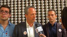 Lecce - Targa di gran merito al mecenate imprenditore del suo caffè Antonio Quarta