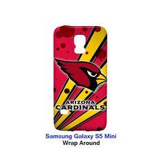 Arizona Cardinals Node and Strip Samsung Galaxy S5 Mini Case Wrap Around