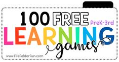 Free Printable Learning Games for Kids! Preschool, Kindergarten, First Grade, Second Grade, and Third Grade Learning Centers. Hands-on-Homeschooling with File Folder Games Kindergarten Literacy Stations, Kindergarten Math Worksheets, Preschool Kindergarten, Learning Games For Kids, Learning Centers, Preschool Activities, Preschool Printables, Preschool Learning, Therapy Activities
