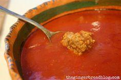 New Mexico Style Albondigas Soup
