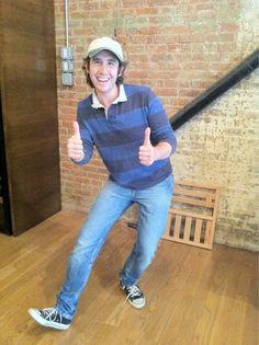 Josh Groban. cutest nerd on earth!!! I wish I could call him my boyfriend!:(