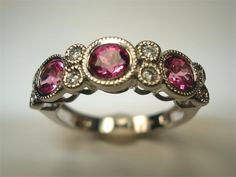 Estate Jewelry - Pink Tourmaline Ladies Ring