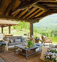 Pergola Ideas For Patio Outdoor Decor, Country House, House, Outdoor Space, Outdoor Rooms, Patio Furniture, Rustic Outdoor, Beautiful Homes