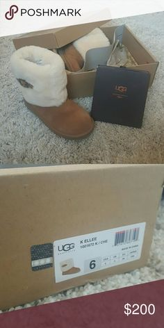 NIB Buckled Uggs Never worn, NIB. Comes with care kit($20). UGG Shoes