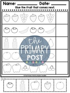 teaching patterns, kindergarten patterns, patterns worksheets Patterning Kindergarten, Teaching Patterns, Pattern Worksheet, Teaching Math, Worksheets, Abs, Student, Activities, Shop