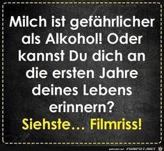 jpg'- Eine von 60183 Dateien in der… funny picture – Milk is dangerous. jpg – One of 60183 files in the category & # funny & # on FUNPOT. Funny Texts, Funny Jokes, Humor Texts, Susa, Facebook Humor, Humor Grafico, Thing 1, Man Humor, True Words