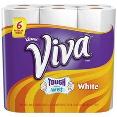 Viva Paper Towels, Choose-a-Size, White, Big Rolls Viva Paper Towels, Best Toilet Paper, How To Roll Towels, Coupon Queen, Rolled Paper, Extreme Couponing, White Towels, Coupon Deals, Food Preparation