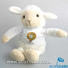 Soft Toy Lamb with S