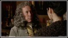 The Duke is charming but not very cooperative. When he fails to see reason, Claire resorts to threats, bringing up the Jacobite gold collected by Dougal and turned over to Sandringham – a guess, but a good one.