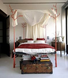 Twig Canopy bed. This may be purchased on ecofirstart.com.