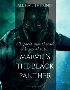 The King is Coming! Get your Marvel Black Panther General Knowledge right here!