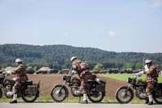 Swiss Army, Atv, Switzerland, Bicycle, Public, Military, Image, Cold War, Swiss Guard